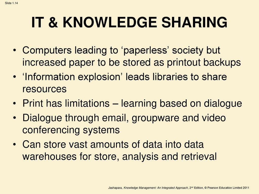 limitation of knowledge management system