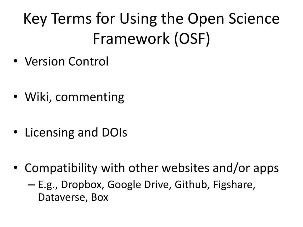 What is Open Science and How do I do it? - ppt download