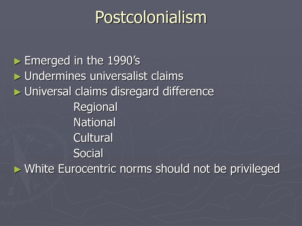 Postcolonial Criticism - ppt download