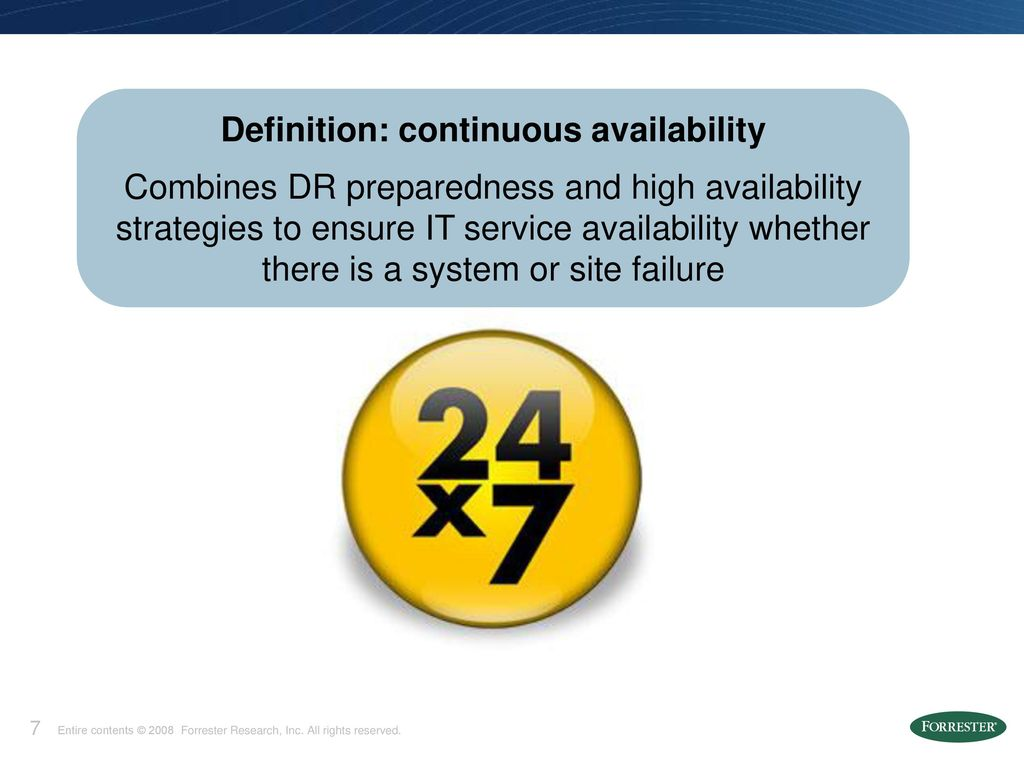 providing application high availability - ppt download
