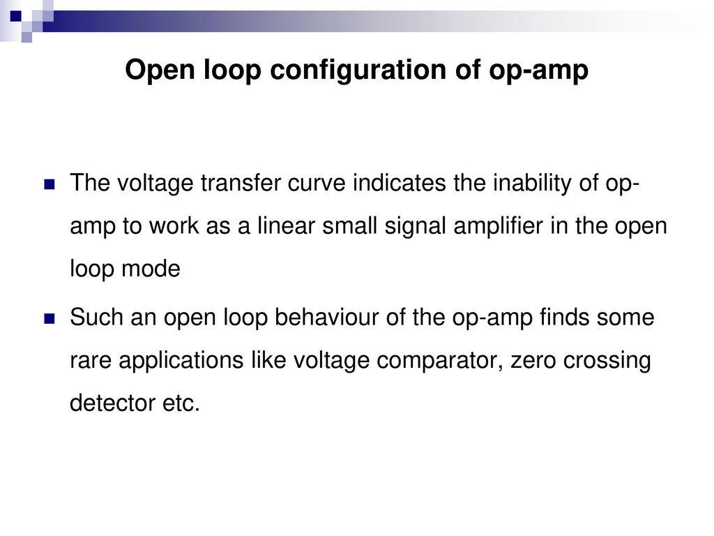 Course Contents Unit 1a Integrated Circuits Ppt Download Lm741 Based Comparator Uses Bipolar Power Supply 76 Open