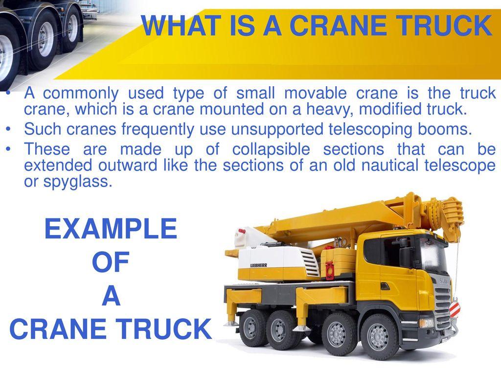 Visit us online at Crane Truck Sydney Services By DELTA