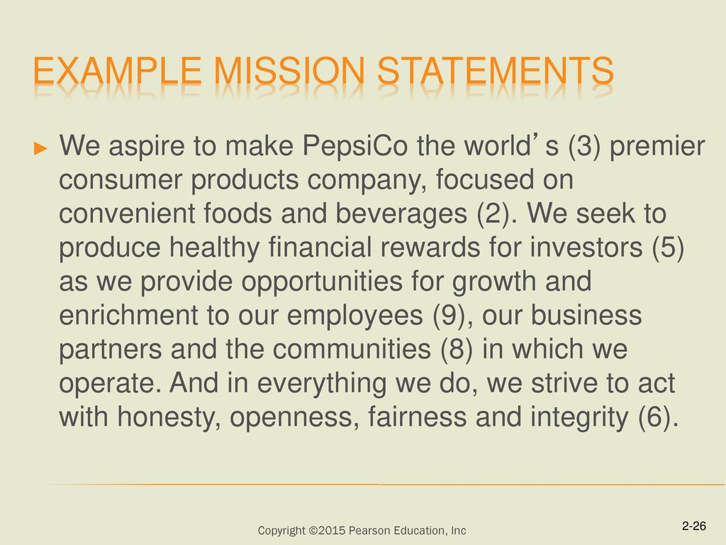 The Business Vision And Mission Ppt Download