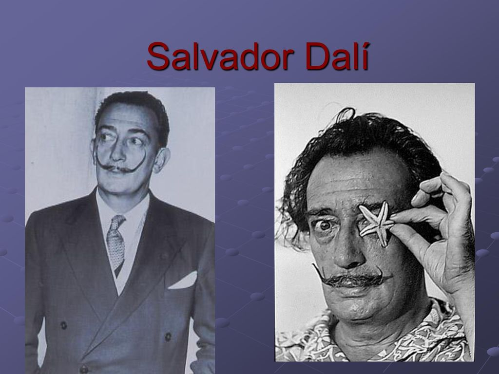 Salvador Dalí  - ppt download