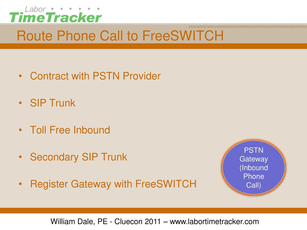 Building A Telephony Application With FreeSWITCH and Lua