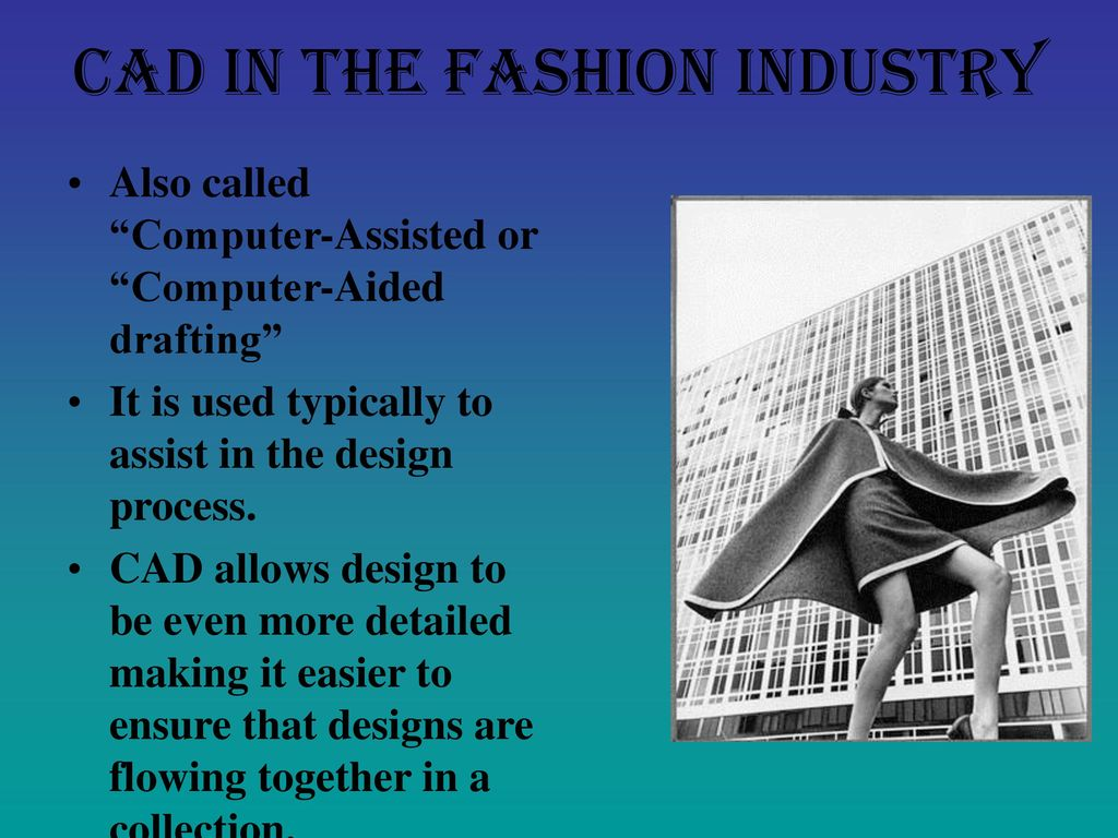 Computer Aided Design Cad For Fashion Design Ppt Download