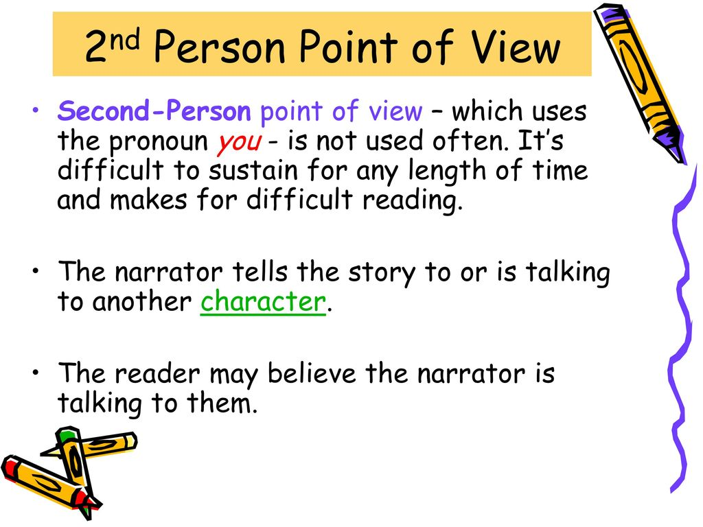 what is 2nd point of view