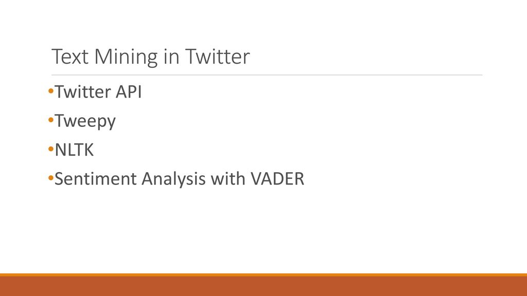 Twitter Data Mining and Sentiment Analysis - ppt download