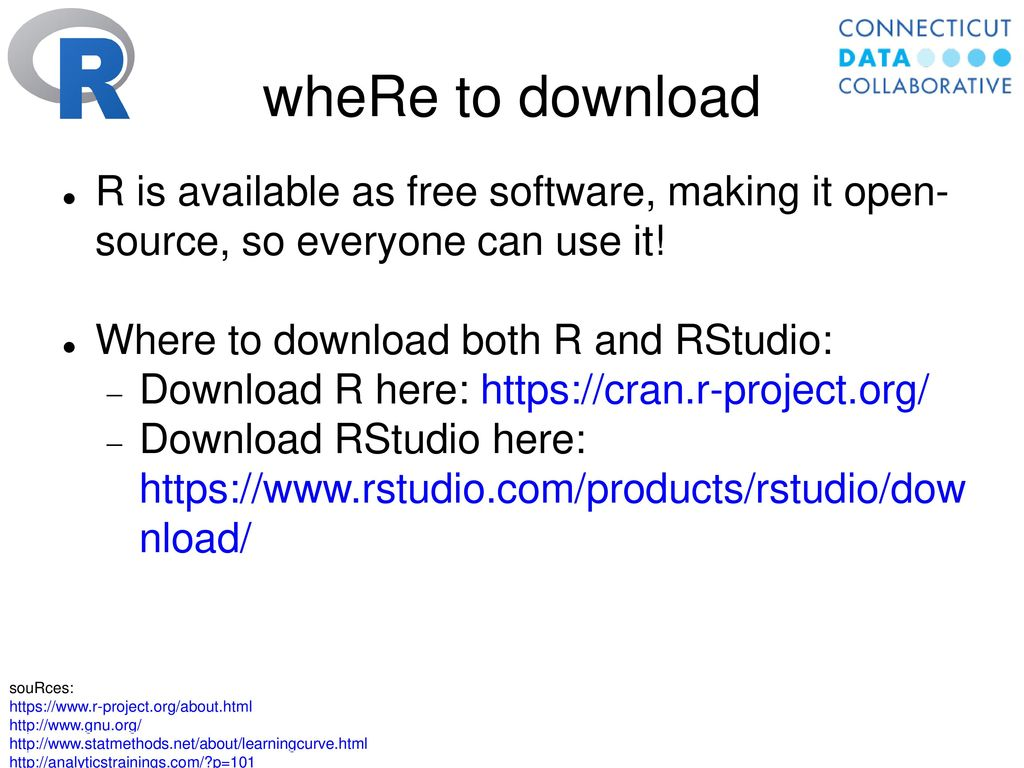 Data Tools: R and RStudio - ppt download