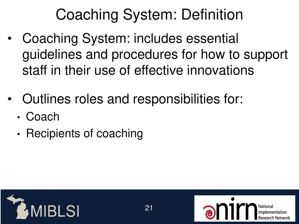 coaching and supervision: - ppt download