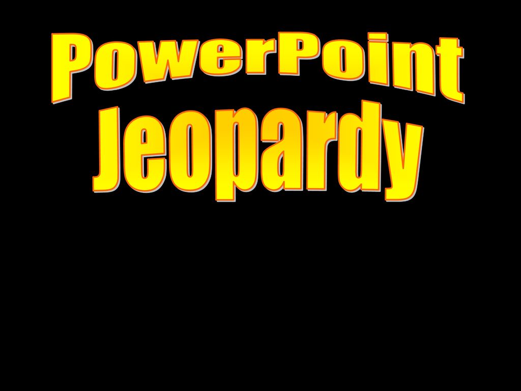 PowerPoint Jeopardy 3rd Quarterly Review  - ppt download