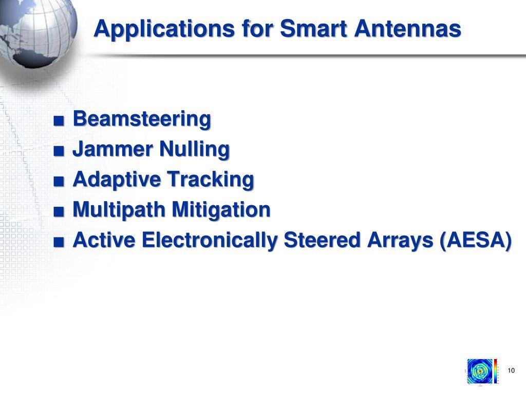 Military Radar Summit Smart Antennas 101 Frank Gross 2/25