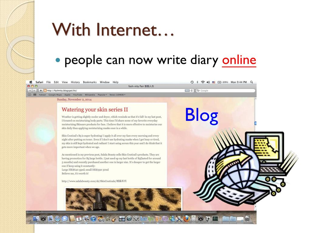 write a diary online