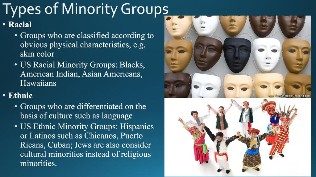 types of racial groups