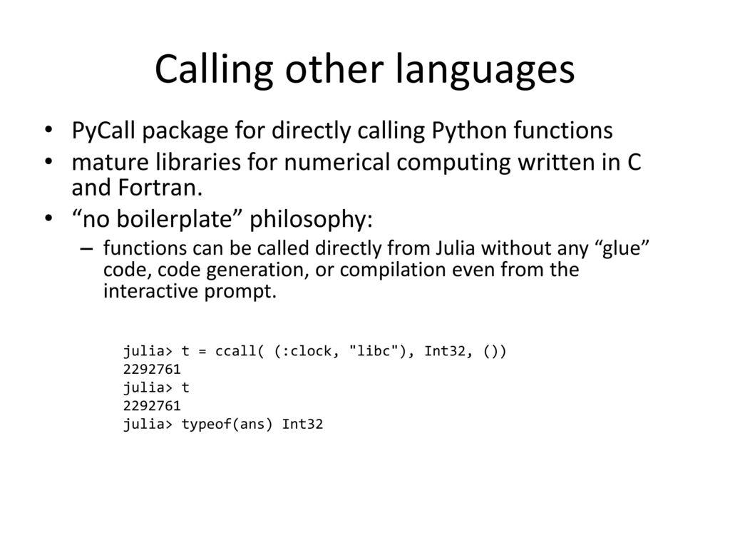 Programowanie w języku Julia - ppt download