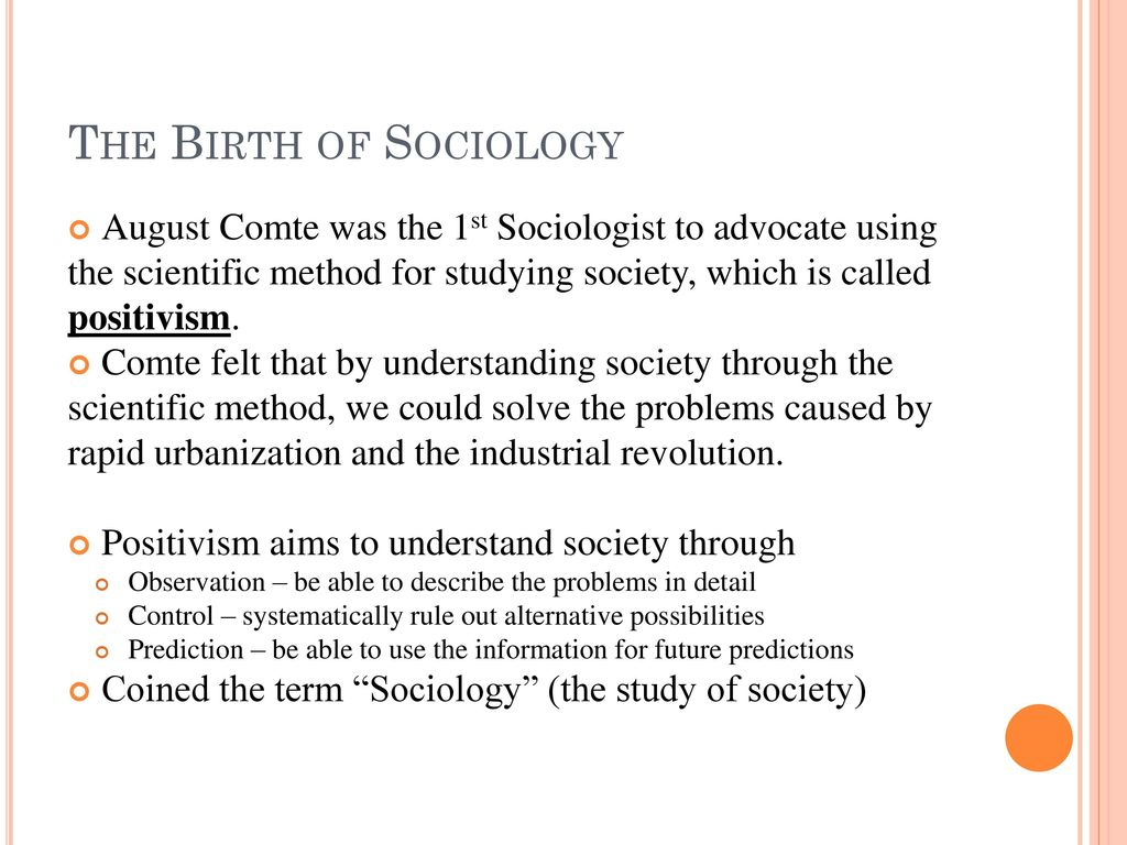 purpose of studying sociology