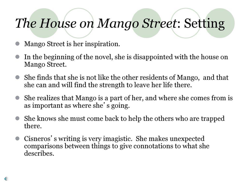 the house on mango street setting