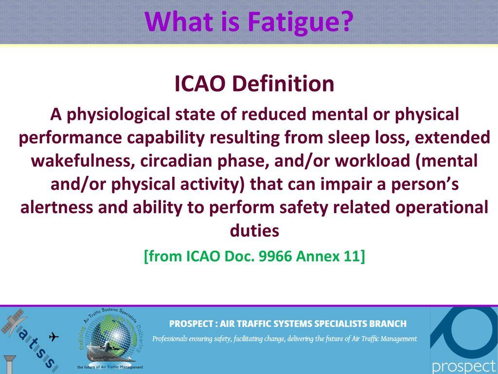 fatigue a context. - ppt download