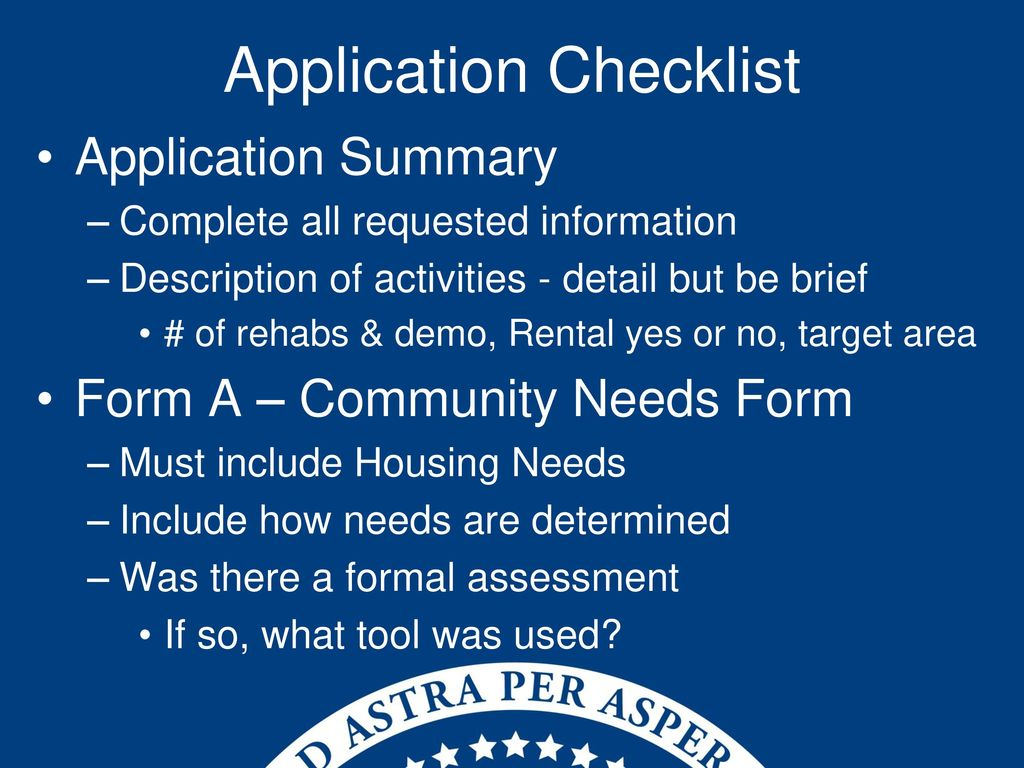 2018 CDBG Housing Application - ppt download