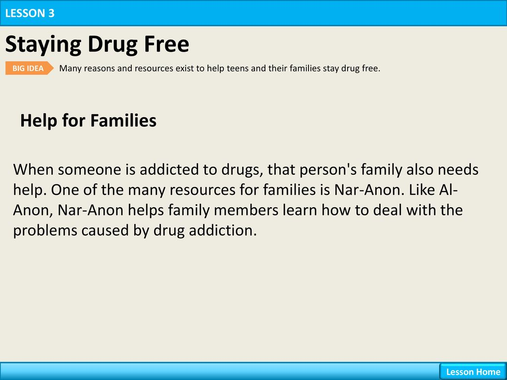 5f74f938c1951 Chapter 16 Drugs Lesson 3 Staying Drug Free. - ppt download