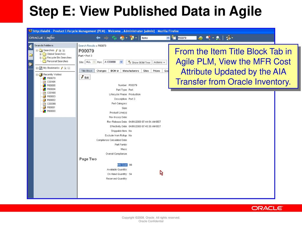 Agile PLM Overview and Oracle EBS Integration - ppt download