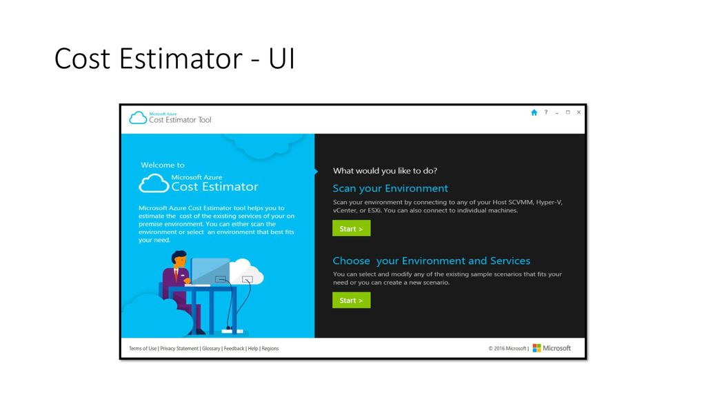 build stronger business cases with the azure cost estimator ppt
