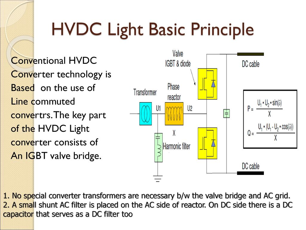Hvdc Light New Technology For A Better Environment Ppt Download Ac To Dc Converter Public Circuit Using Bridge 5 Basic Principle Conventional