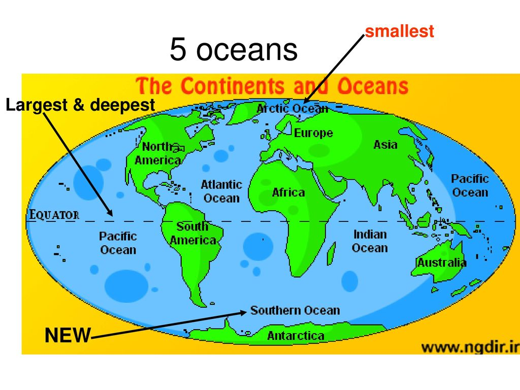 the smallest ocean - HD 1024×768