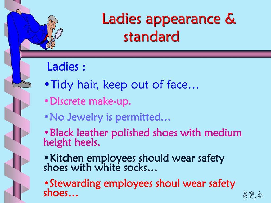 Appearance and Behavioral standards - ppt download