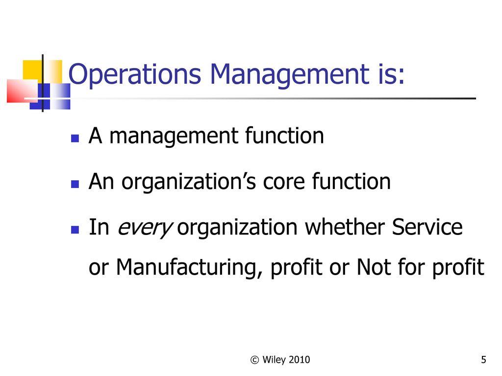 5 Operations Management ...