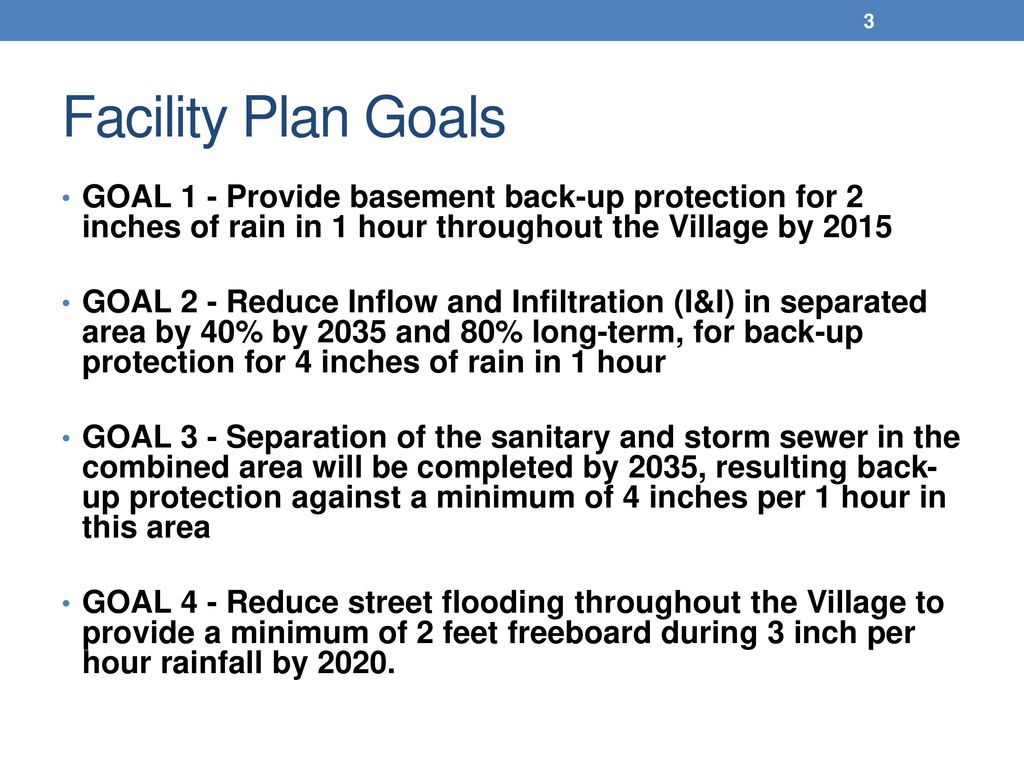 Comprehensive Sewer Planning Update Meeting - ppt download