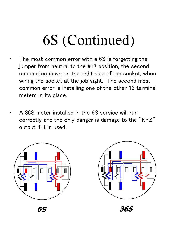 6S+%28Continued%29 13 terminal meter socket wiring diagram trusted wiring diagrams