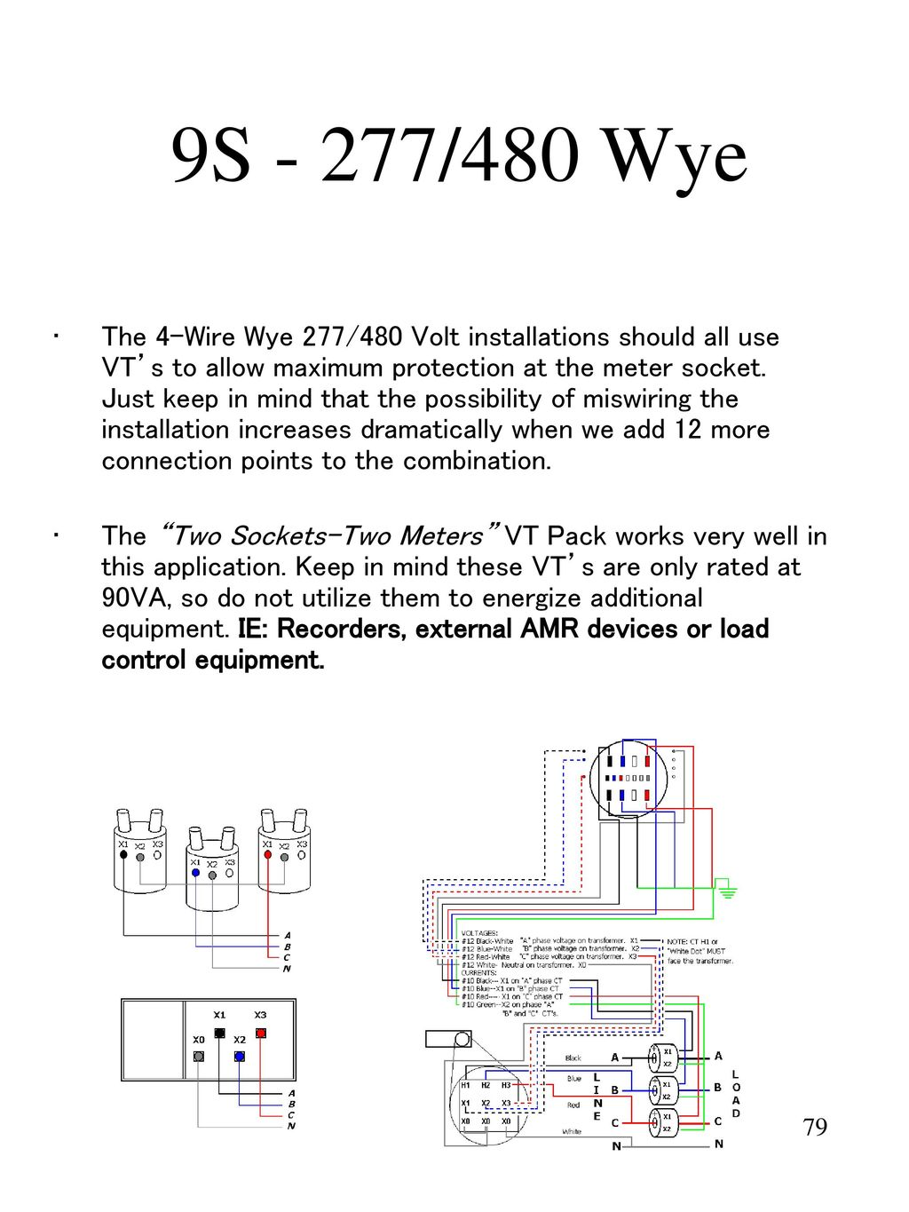 Metering In Todays World Ppt Download Three Way Switch Miswired 79 9s