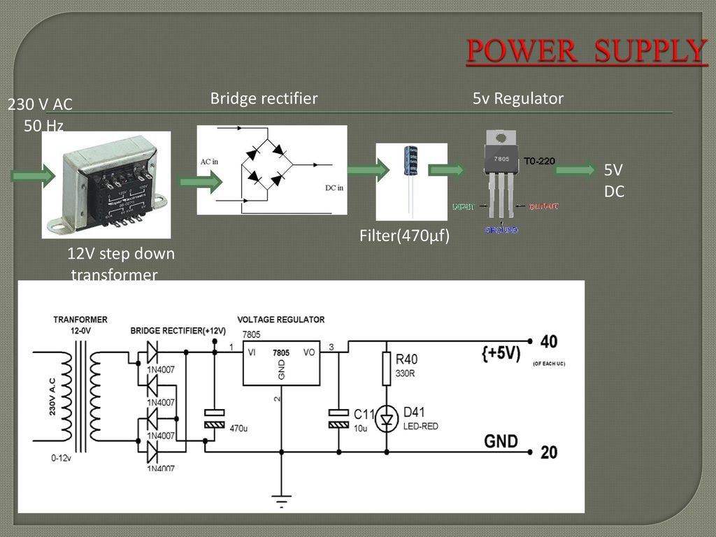 Medication Reminder Using Pic Microcontroller Ppt Download 0 12v Power Supply Circuit Diagram 5