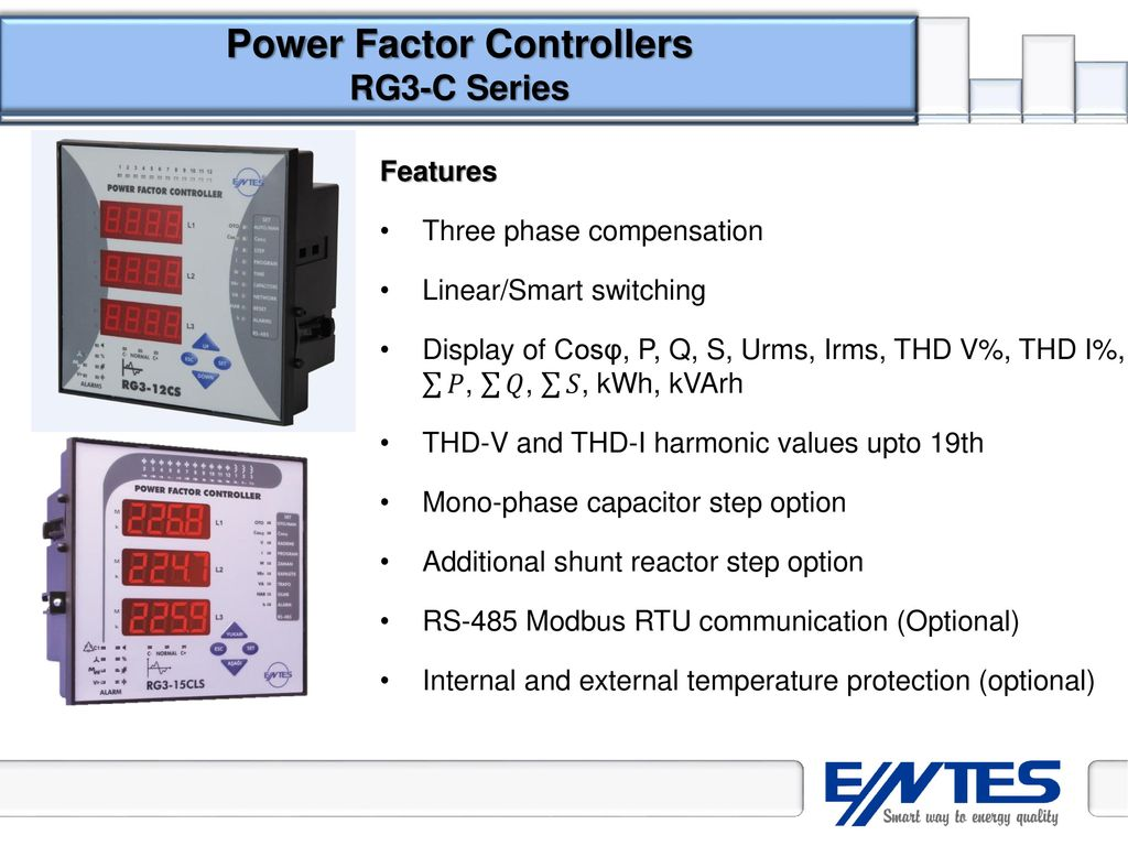 Power Factor Correction Ppt Download Show The Schematic Diagram Of Series Capacitor And Shunt Controllers Rg3 C