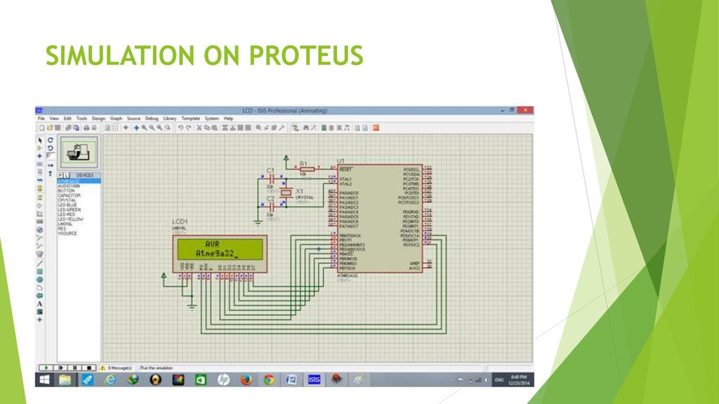 LCD Interfacing using Atmega ppt download