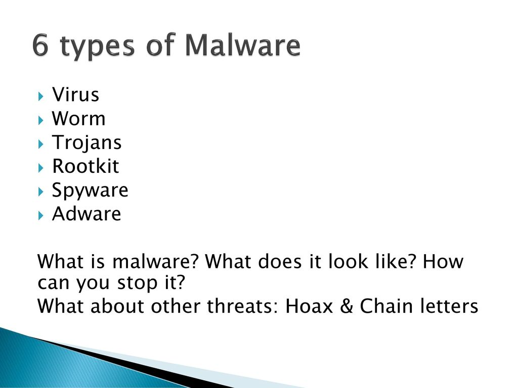 Malware and Computer Maintenance - ppt download