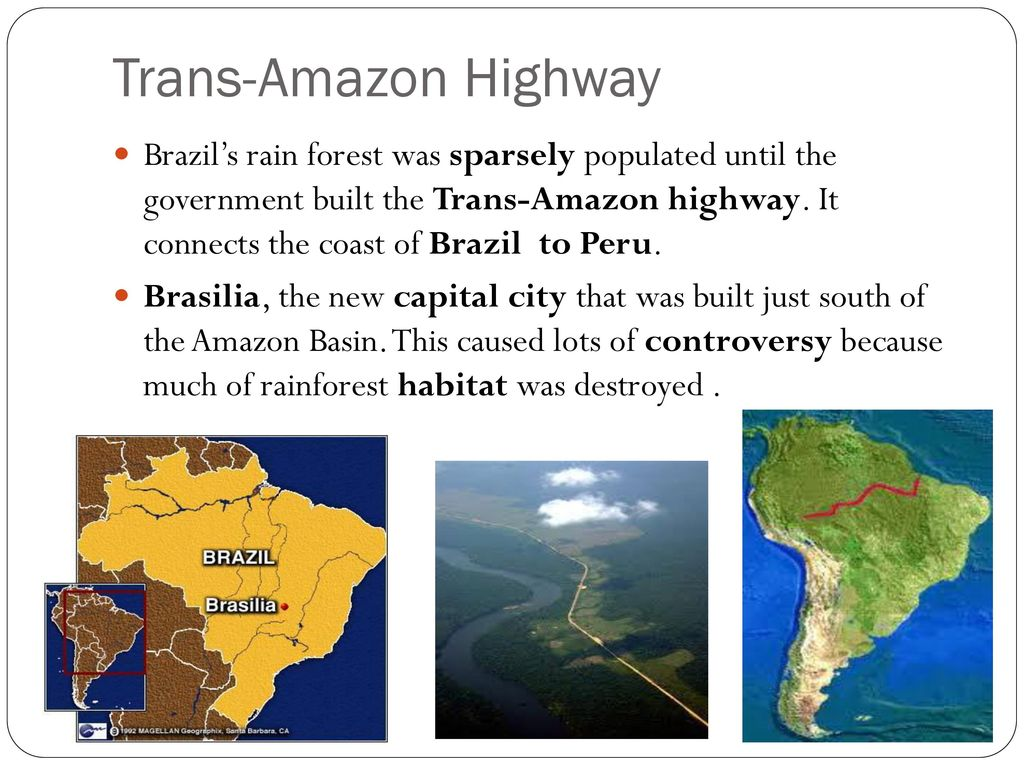 why is amazon basin sparsely populated
