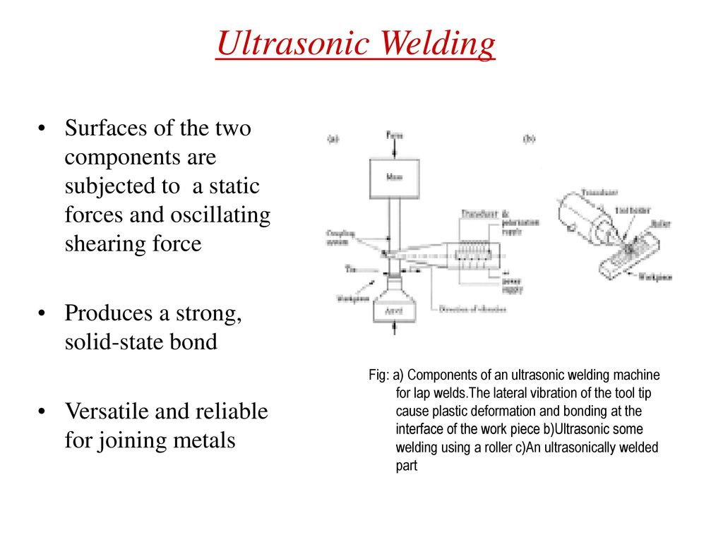 ultrasonic welding diagram