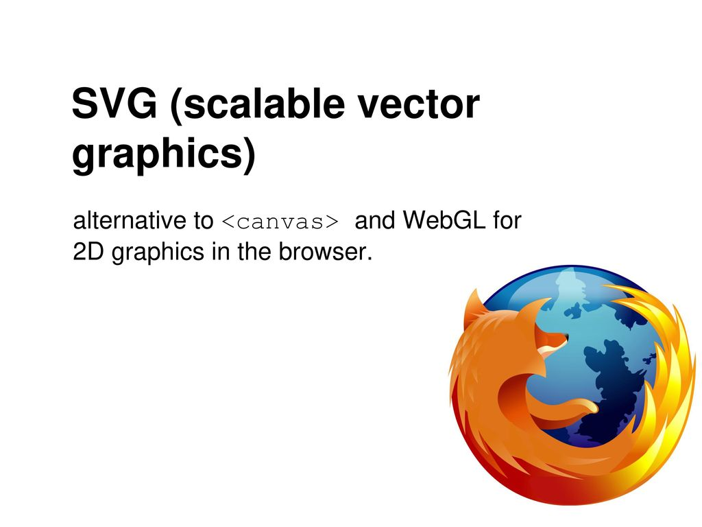 SVG & DOM Manipulation via Javascript - ppt download
