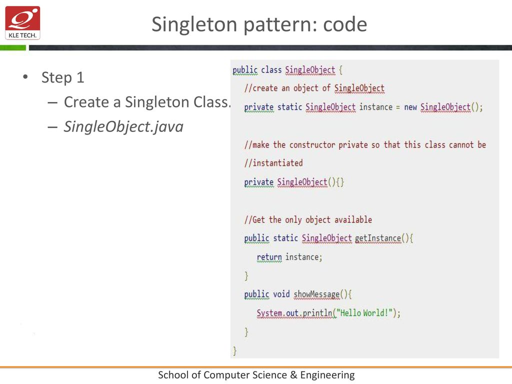 Singleton Pattern Java Cool Inspiration