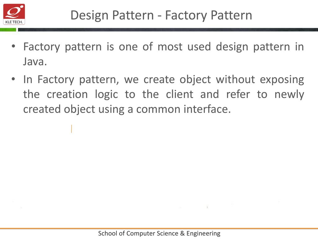 Unit II-Chapter No  : 5- design Patterns - ppt download