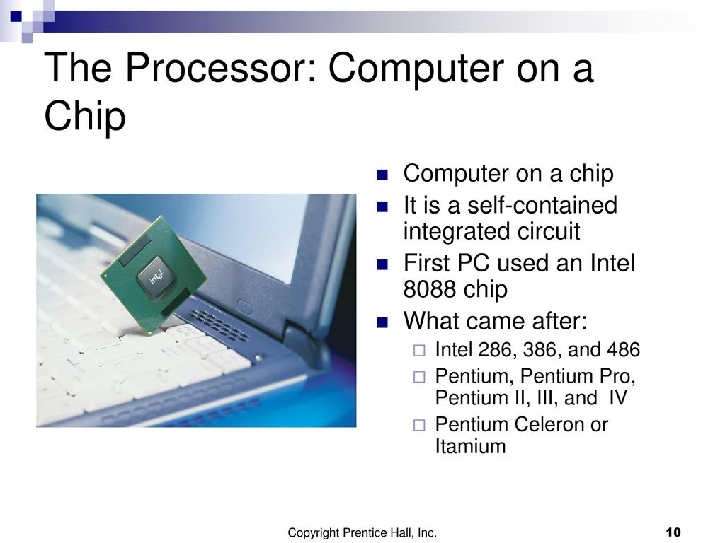 Chapter 4 Inside the Computer - ppt download