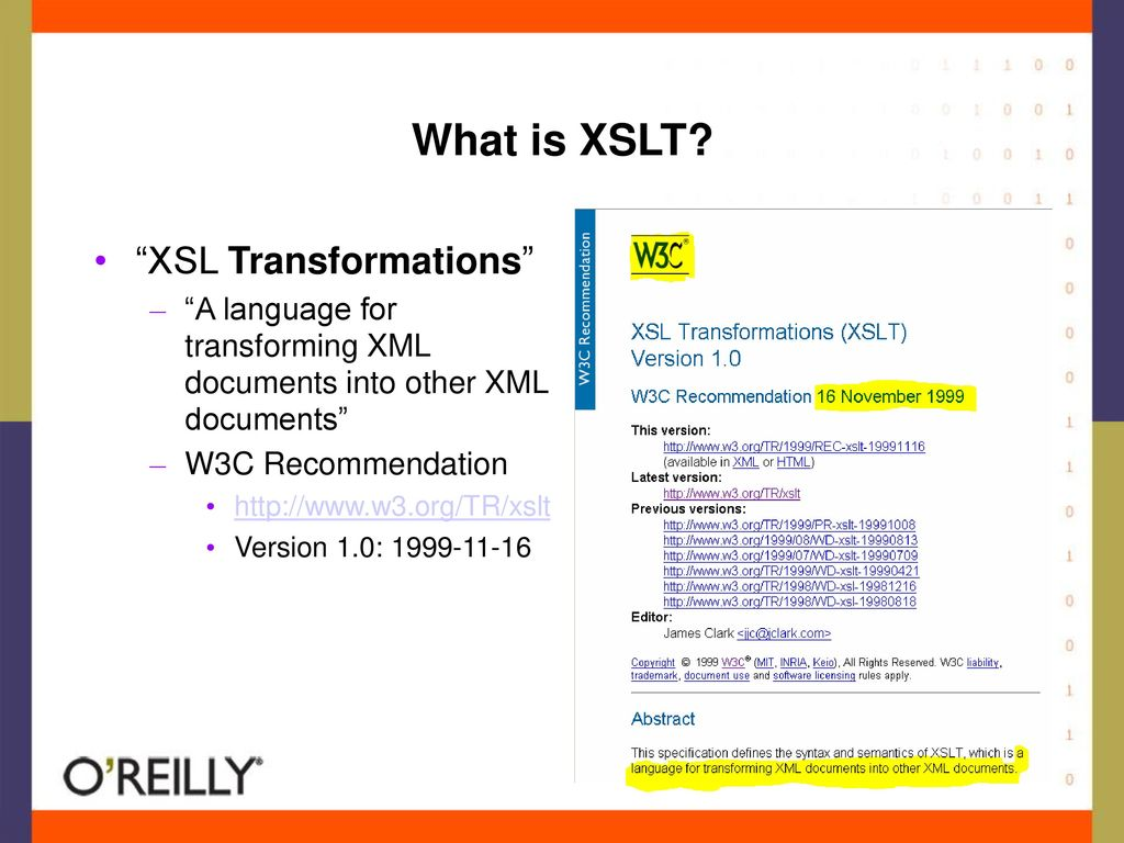 What is XSLT XSL Transformations
