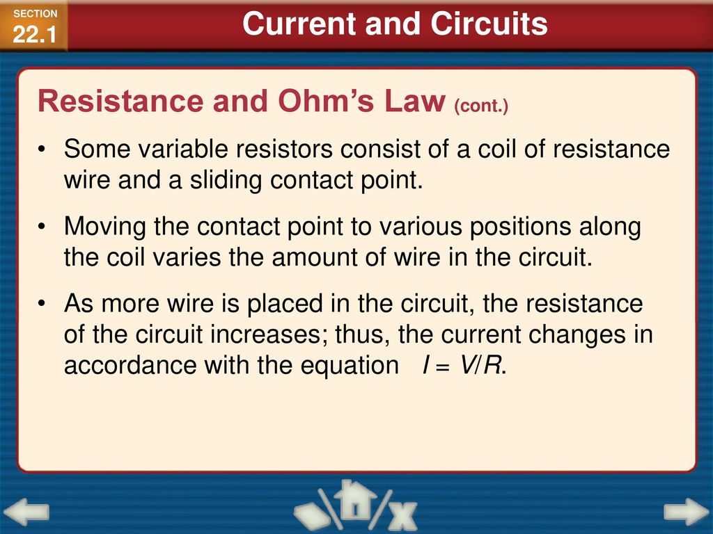 Principles And Problems Ppt Download Variable Resistors Can Also Be Used To Vary The Current In A Circuit 39 Resistance