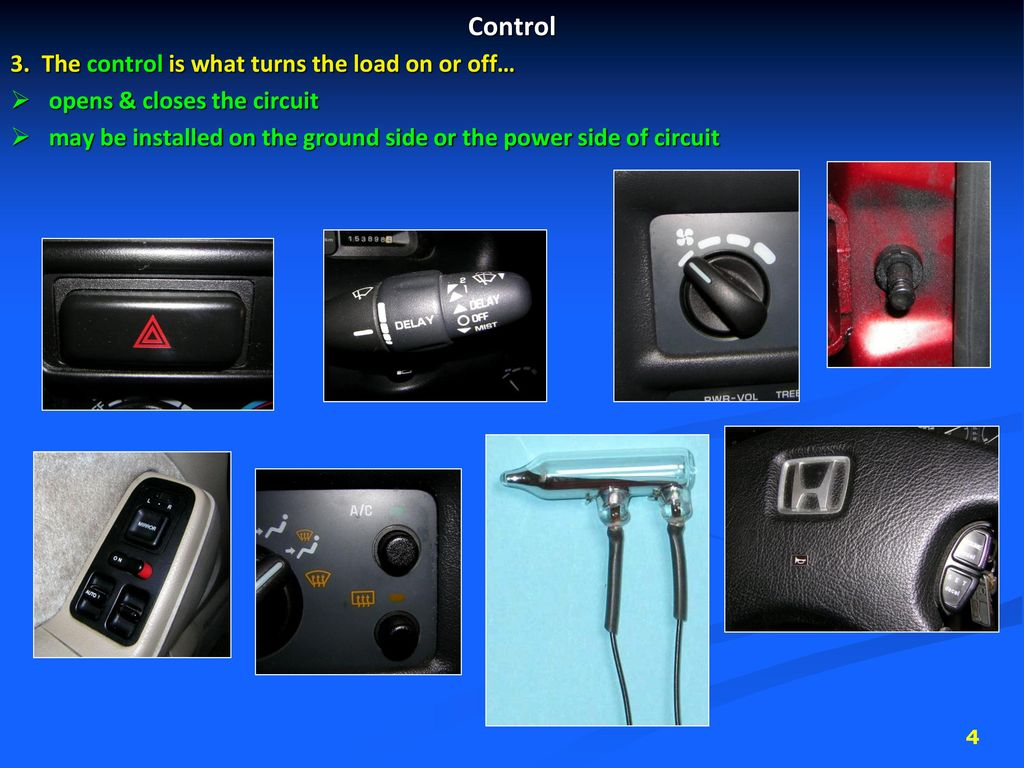 Automotive Electrical Systems Ppt Download Circuits 4 Control 3