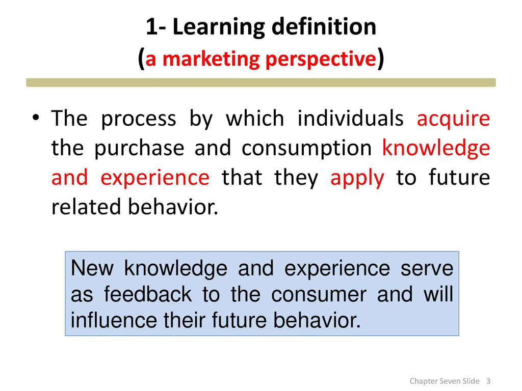 learning perspective definition