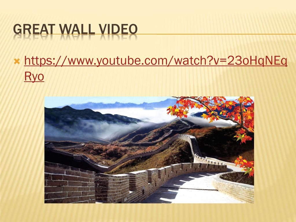 The great wall of china. - ppt download