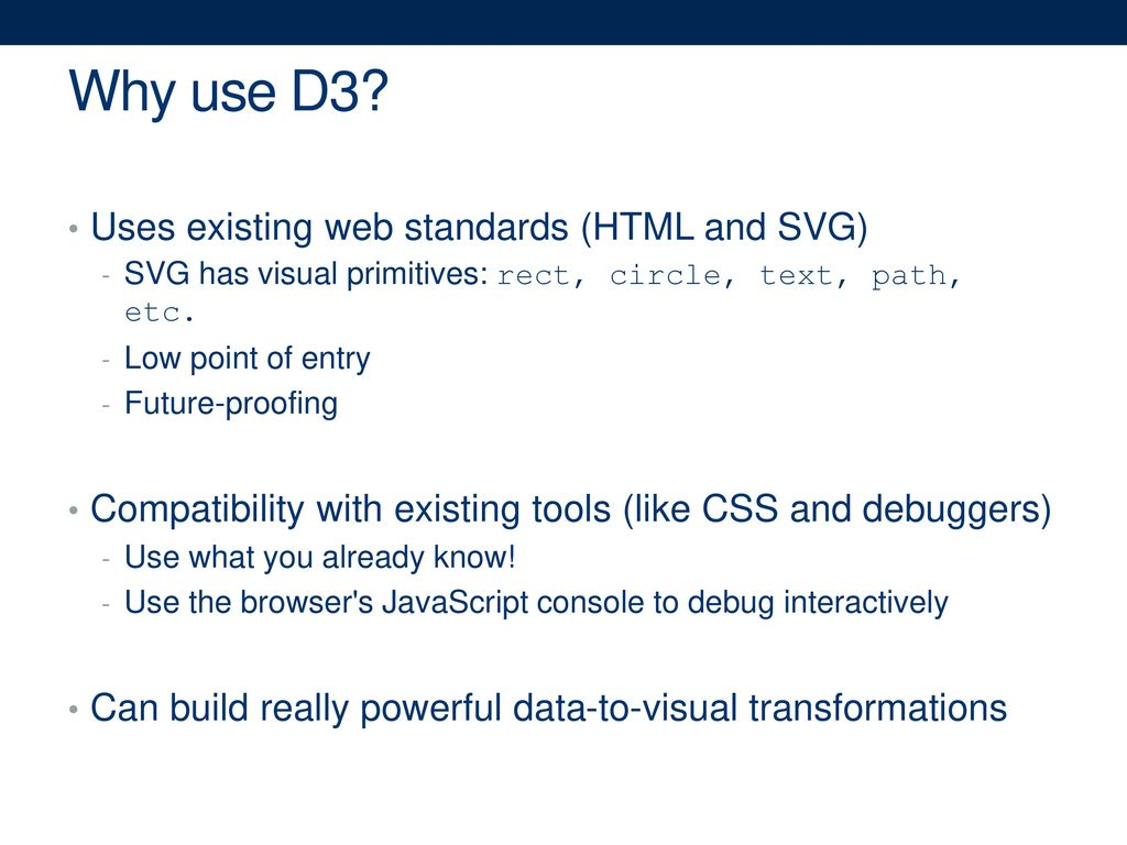 Lab 03: Visualization with d3 - ppt download
