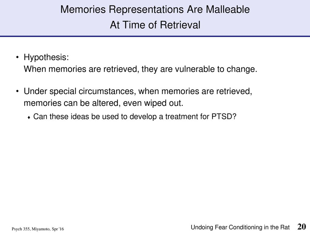 malleable memory definition